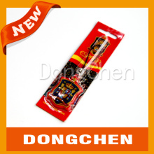 Chaîne porte-clés en caoutchouc en silicone personnalisée avec bac à papier scellé et paquet de carte en papier