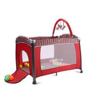 Кроватка для младенцев с младенцем
