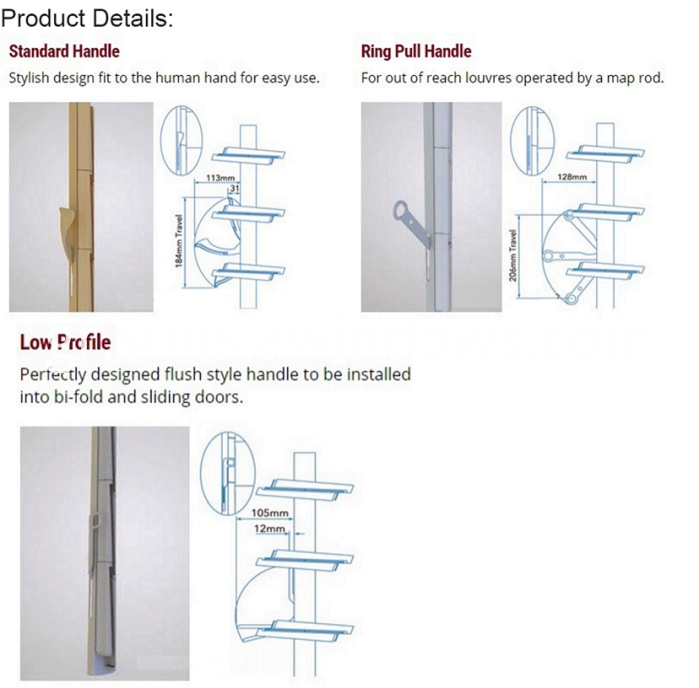 Lovre door product detail