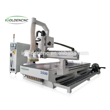 Multi-fountions 1325 1530 4 Axis madeira máquina router cnc