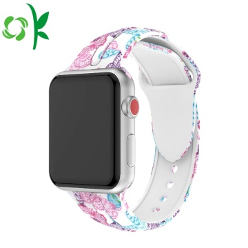 Sport Silikon Uhrenarmband-Bügel iWatch für Apple