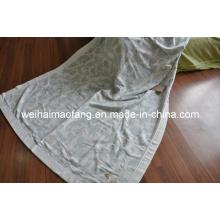 Tejido de lana 100% algodón manta (NMQ-CB010)