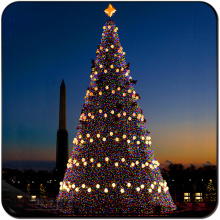 Outdoor Colorful large led decoration Christmas tree