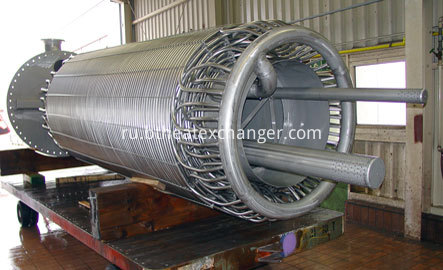 Coiled Tube Heat Exchanger Structure