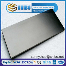 99,95% Чистый лист молибдена, молибденовая плита для роста сапфирового кристалла