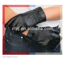 2014 nuevos guantes de conducción elegantes del cuero genuino para el hombre