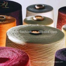 Fil mélangé de laine de cachemire de Mongolie pour le tricot
