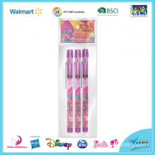 Trolls 3 Piece Pop Up Pencil Set