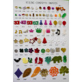 Surprise Toy Holiday Gift Handicraft everyday decorative table confetti baby shape confetti