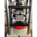 Máquina de pruebas de compresión hidráulica con pantalla digital