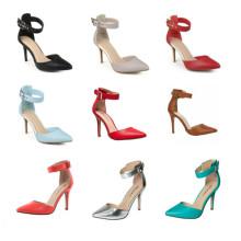 Новая мода мода высокой пятки леди платье обувь (S20)