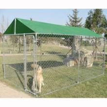 정원과 뒷마당 야외 체인 링크 박스형 개 실행