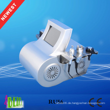 Tragbare Ultraschall Kavitation + RF + Lipo Laser Schlankheits-Maschine Neue Richtung Gewichtsverlust Produkte