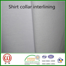 TC material Washing machine resistant collar interlining