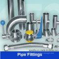 Adaptação de tubulação de aço inoxidável de grau alimentar (3A BPE SMS)