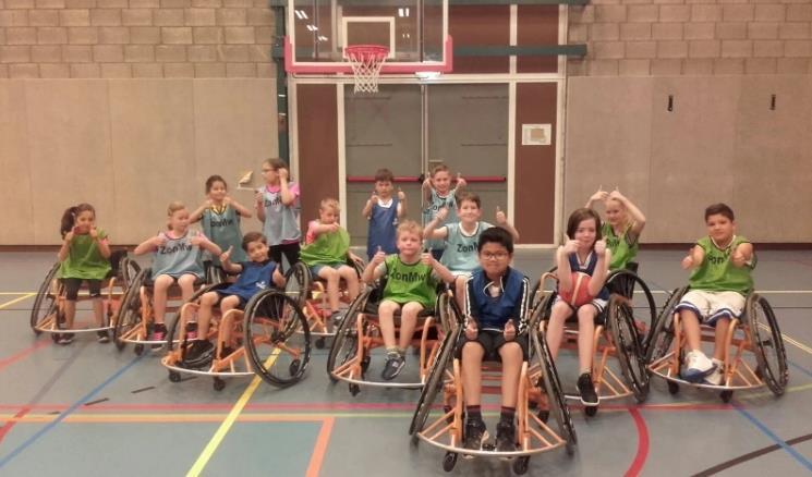 Children Basketball Cener Used