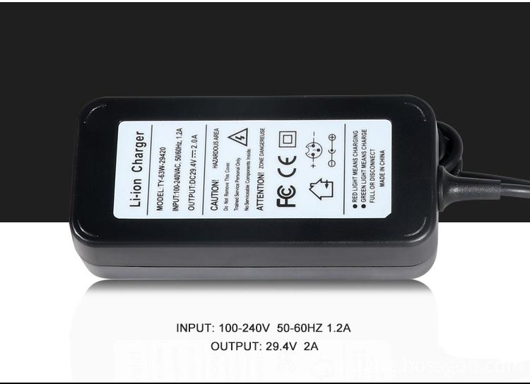 29.4V Li-ion Battery Charger