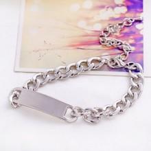 2015 Custom Silver Metal Bracelet Stainless Steel Fashion Jewelry For Women