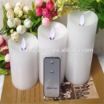 Remote control lilin dipimpin flameless