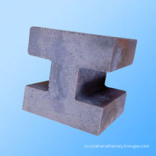 Silica Refractory Oxide Bonded Silicon Carbide Brick / Sic Fire Bricks For Aluminum Tank Liners