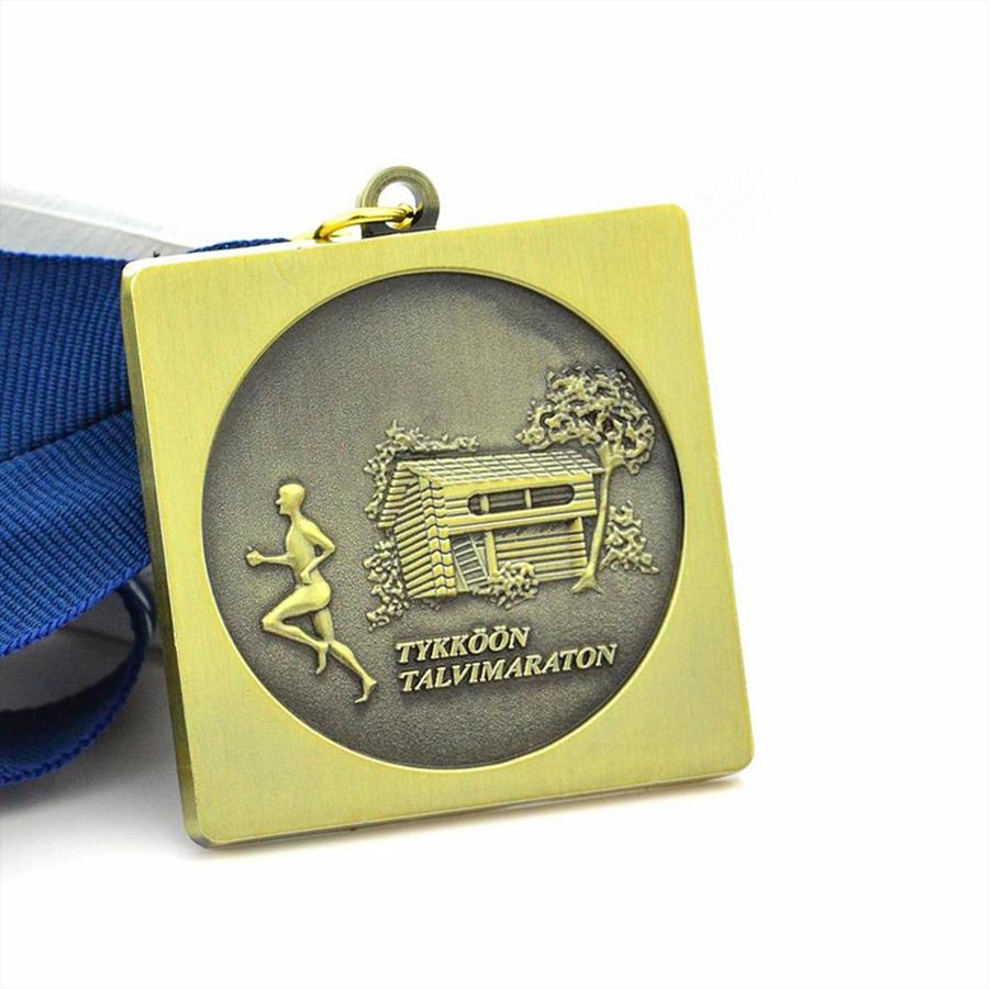 Running Theme Medal