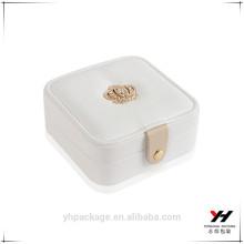 Luxe fait à la main personnalisé Logo imprimé papier bijoux boîte de montre boîtes en gros