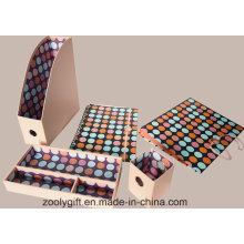 5 in 1 Paper Stationery File Storage Box Set