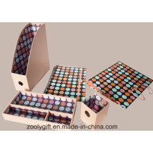 Caixa de armazenamento de arquivo de papéis de papel 5 em 1