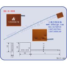 selo de segurança de carga BG-G-008