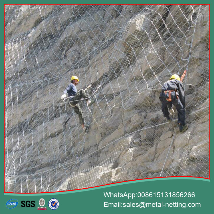 Rockfall Slope Netting