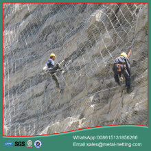 rockfall netting slope protection mesh net