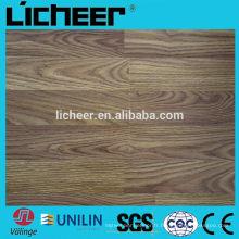 Fabricants de planchers en stratifié en Chine surface étagée moyenne 8.3mm / sol stratifié à simple clic