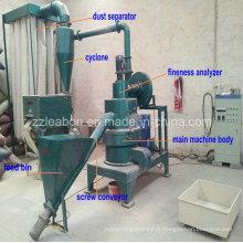 Moulin à poudre en bois durable / moulin à farine en bois