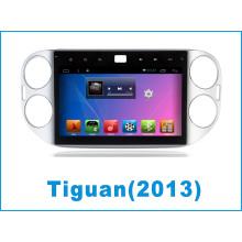 Système Android Car DVD GPS pour Tiguan avec navigation automobile / voiture Bluetooth