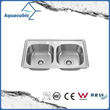 Fregadero de lavado de la mano del surtidor de China de Undernount (AS8348M)