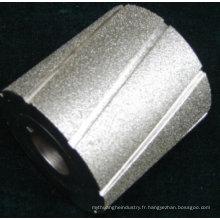 roue galvanisée de diamant de tambour de meulage