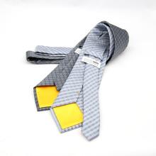 Cravate d'affaires classique chaude hommes rayés cravates