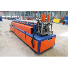 Garis ganda Ceiling Furring Channel Roll Forming Machine