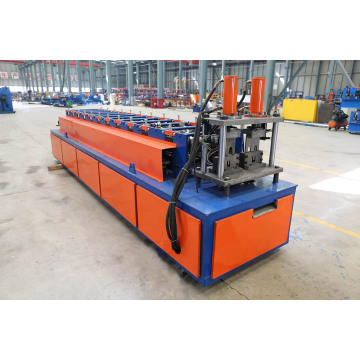 Dubbellinje Tak Furring Channel Roll Forming Machine