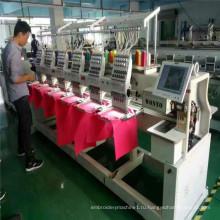 12 иглы 6 головы компьютерная вышивка машина / новое состояние вышивальная машина Япония цена дизайн
