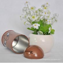 Round Colorful Gift Tin com preço copetitivo