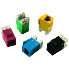 Телекоммуникация KJ-C5090-BL Cat 5e Keystone Jack Инструмент Keystone Jack Сетевой разъем PCB JACK 8PIN