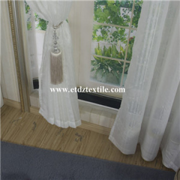 Polyester Jacquard Voile Curtain
