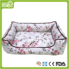 Algodão estilo pastoral Pet Bed, cama do cão (HN-pH560)