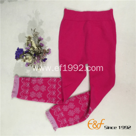 Autumn and Winter Tight Warm Knitted Long Pants