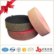 Faixa elástica tecida metálica da categoria da solidez da cor de Eco-amigável 3-4 para o vestuário