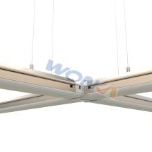 Luz LED Linear montada no teto