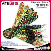 Оптовые дешевые изготовленный на заказ напечатанные талрепы шеи полиэфира