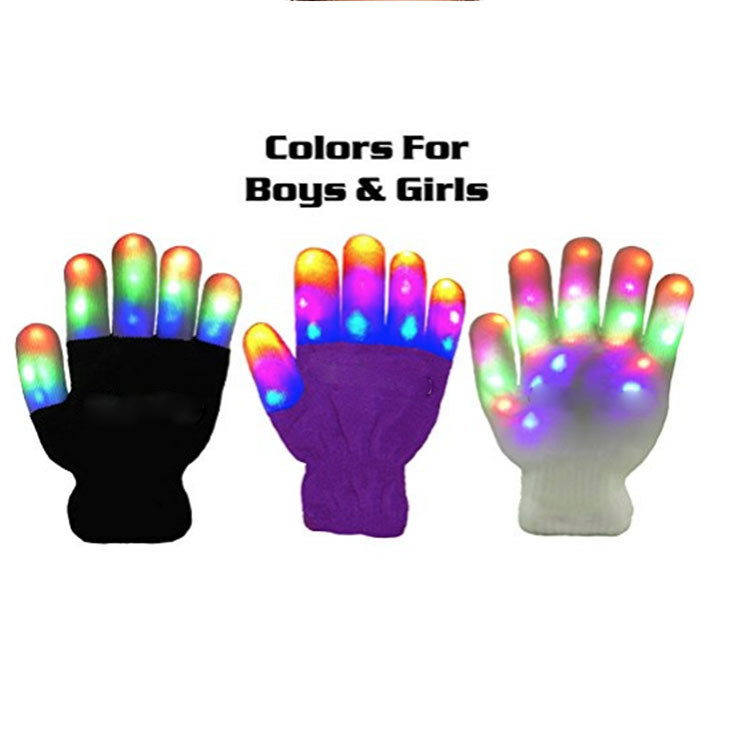 Lights Glowing Gloves