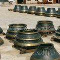 OEM Mesto / Symons / Telsmith / Kpi-Jci / Pegson, Mccloskey / Extec, Fintec Высокомарганцевые стальные конусные дробилки